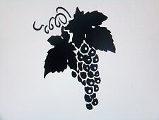 Grapes Wall Decor Home Food Wine Windows Vinyl Stickers Decals all colors