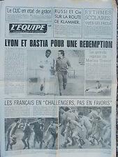 L'Equipe du 18/2/1977 - Lyon  - Bastia - CUC - Russi - Avant France-Angleterre