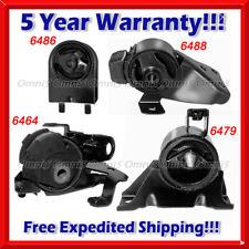 K634 Fit 95-98 Mazda Protege 1.5L//1.8L MANUAL Trans Motor /& Trans Mount Set 4PC