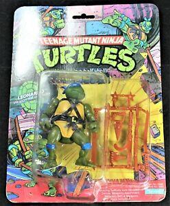1988 TMNT Leonardo MOC - 10-Back - Playmates - Teenage Mutant Ninja Turtles