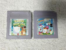 Nintendo Game Boy, Gameboy Color Spiele, Kirbys Dream Land & Kirbys Dream Land 2
