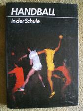 Handball in der Schule - DDR Buch für Schule und Sportgemeinschaft - Handball