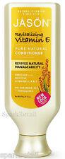 Jason Organic Revitalizing VITAMIN E Pure Natural CONDITIONER Vitamin A/C 473ml