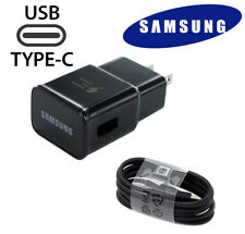 Original Samsung Galaxy S8 S9 Plus Note 8 Adaptive Fast USB Type C+ Wall Charger