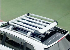 Alloy Roof Rack Mounted Carrier Basket - Lockable Aero Shape Luggage Cage 1.3M
