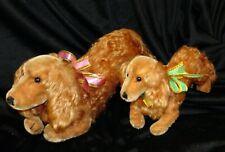2  anciens Chiens Steiff   adorables compagnons poupees 2 steiff DOGS