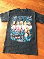 Maroon 5 Kelly Clarkson 2013 Tour Concert Shirt