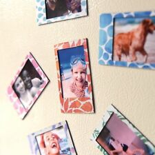 Polaroid 6 DESIGNER Magnetic Picture Frames for 2x3 Photo Paper Snap Zip Z230