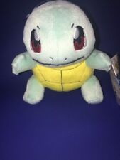 Plush Soft Toy Squirtle Small Pokemon  7Inch Cute Kids Toys Collectible By Tomy