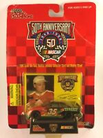 Racing Champions Nascar 50th Todd Bodine Tabasco #35 Diecast 1/64 + Card & Stand