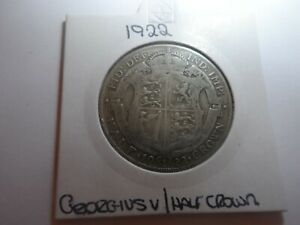1922 George V Half-Crown Coin,
