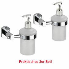 WENKO 2er Set Seifenspender Dispenser Lotionspender Pumpspender unbenutzt B-Ware