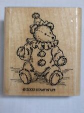 Rubber Stamp - Teddy Bear