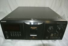 Sony Cdp-cx691 300 Mega Storage Compact Disc CD Player -Tested Working-