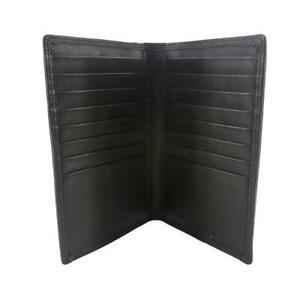 Porter - Black Cowhide Travel Card Leather Wallet