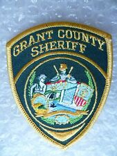 Patch- Grant County Sheriff US Police Patch (NEW, apx. 95x75 mm)