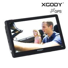 """XGODY 7"""" Camión Coche GPS Navegación Navegador Sistema 8GB asistencia de carril"""