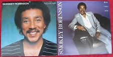 Smokey Robinson (Lot of 2 LPs): Being With You / Where There's Smoke...