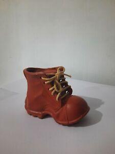 Shoe Shape Flower Vase Sri Lankan Clay Design Eco Friendly Handmade Flower Vase
