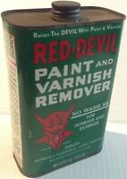 Vintage Red-Devil No Wash 88 Can, 1 U.S. Qt. Super Nice