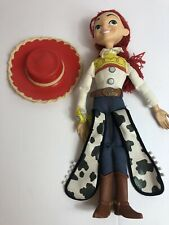 ORIGINAL DISNEY STORE TOY STORY JESSIE PULL STRING DOLL WITH HAT!