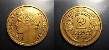 IIIème république - 2 francs Morlon 1938 SUP ! F.268/11