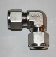 """Swagelok  1/2"""" Tube Union Stainless Steel Elbow SS-810-9"""