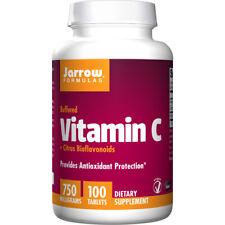 Vitamina C + Cítrico Bioflavoides, 750mg X 100 Tabletas - Jarrow Formulas
