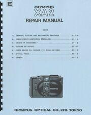 Olympus Xa2 Camera Repair & Parts Manual Reprint