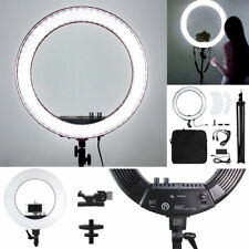 "18"" LED Photography Diva Ring Light Dimmable 5500K Lighting Photo Video Stand"