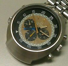 OMEGA FLIGHTMASTER TROPICAL DIAL - RAREST CAL.911 - YELLOW HANDS FOR PILOTS