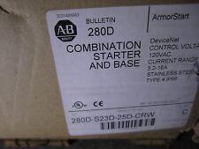 NEW ALLEN BRADLEY 280D-S23D-25D-CRW ARMORSTART MOTOR CONTROLLER