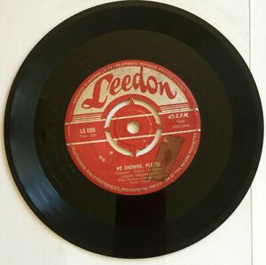 "GERRY GRANAHAN - 7""45 - ""NO CHEMISE, PLEASE / GIRL OF MY DREAMS"" - 1958 LEEDON"