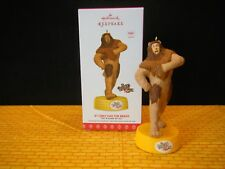 If I Only Had the Nerve Cowardly Lion Hallmark KEEPSAKE Wizard of Oz Ornament