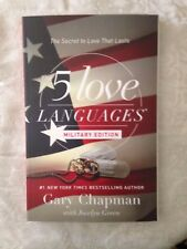 """""""The 5 love Languages""""MILITARY EDITION"""" Grow Closer as a Military Couple **NEW*"""