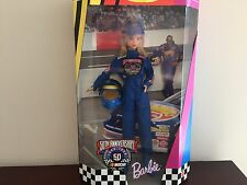 Nascar 50th Anniversary Barbie Doll-Nrfb