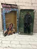 "Snoop Dogg Vital Toys Action Figure Rare 12"" Big Doll In Box 2002 Little Junior"