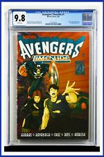 Avengers Timeslide #1 CGC Graded 9.8 Marvel February 1996 White Pages Comic Book