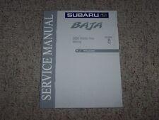 2005 Subaru Baja Wiring Diagrams System Shop Service Repair Manual Sport Turbo