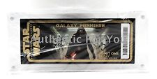 Disney Star Wars Force Awakens Galaxy Premiere Night Limited Edition TIcket
