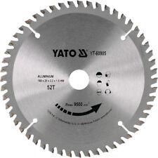 Hm Lame de Scie Circulaire 160 X 20, 52 Zähne Tr-F Pos. pour Aluminium, à Métal