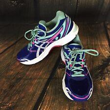 Asics GEL Equation 8 Women's T5Q6N.4101 Dazzling Blue/White Running Shoes Size 8