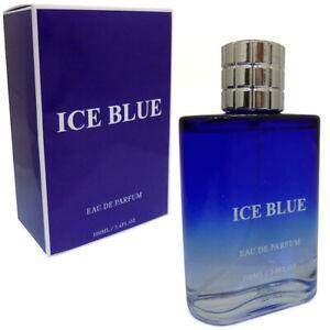 Ice Blue Mens Perfume Creative Colours 100ml Eau De Parfum Gents Fragrance