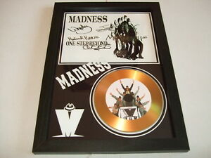 madness    SIGNED   GOLD   DISC