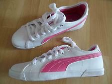 PUMA BENECIO Jr. schöne Sneakers weiß pink Gr. 37,5  NEU
