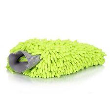Dafna Chenille Microfiber Premium Plush Scratch-Free Wash Mitt Green