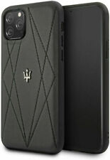 Genuine Maserati Leather Cover Case for Apple  iPhone 11 Pro