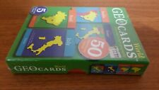 Geo Cards World Educational Geography Card Game 5 Games Countries & Capitals