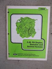 1988 Ford 3.8L V6 Engine Emission Related Systems Auto Manual Balance Shaft  R