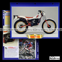 #033.11 Fiche Moto YAMAHA TY 250 R Modèle '84 Trial Motorcycle Card